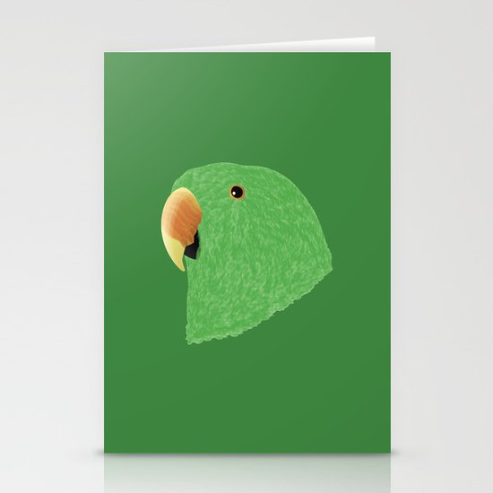 Eclectus [Male] Parrot Stationery Cards