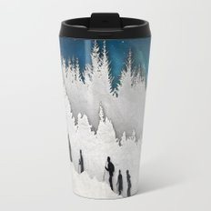 A Snowy Hike II Travel Mug