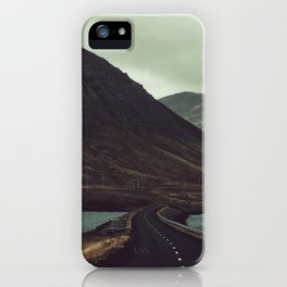 The Road Less Traveled iPhone Case