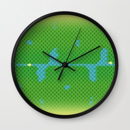"Green Tree Python ""Sorong"" Wall Clock"