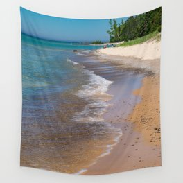 Lake_Michigan Beach, Charlevoix - III Wall Tapestry