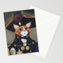 Mewtiny on the Bounty Stationery Cards