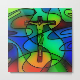 Christ the Redeemer Metal Print