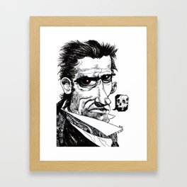 Nyet Framed Art Print