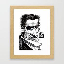 Nyet Framed Art Print