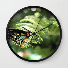Mariposa Wall Clock