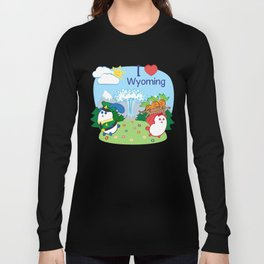 Ernest and Coraline | I love Wyoming Long Sleeve T-shirt