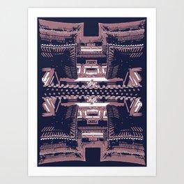 The Buddhist Temple Art Print