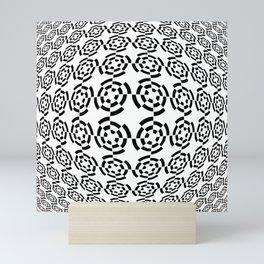 Tribute to Vasarely 2 -visual illusion Mini Art Print
