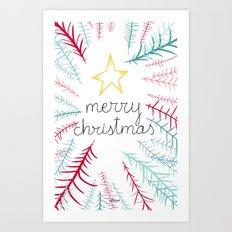Christmas time - Jungle edition Art Print