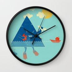 Bermuda Triangle Wall Clock