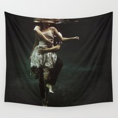abyss of the disheartened : V Wall Tapestry