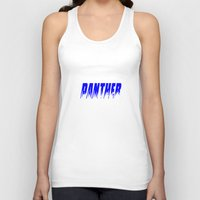 panther Tank Tops featuring Panther by Brian Raggatt