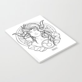 Zodiac Series | Taurus Notebook