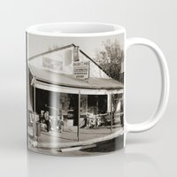 bar Mugs featuring Milk Bar by SwanniePhotoArt