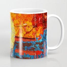 Colorful Baseball Art Coffee Mug