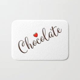 Chocolate Love Bath Mat