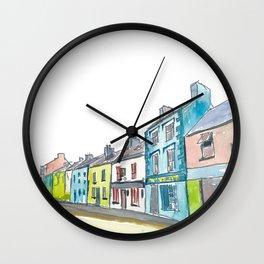 Ireland Dingle Main Street County Kerry Wall Clock