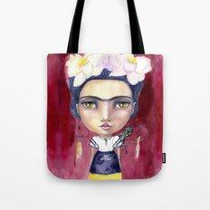 Little Frida by Jane Davenport Tote Bag