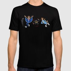 Ninja Sex Party SMALL Black Mens Fitted Tee