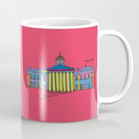 the national Mugs featuring National gallery by PINT GRAPHICS