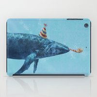 party iPad Cases featuring Party Whale  by Terry Fan
