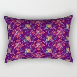 Flor de Muerto - Beautiful Bones Rectangular Pillow