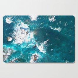 Surf Photography, Beach Wall Art Print, Ocean Water Surfing, Coastal Decor, Digital Download, Bathro Cutting Board