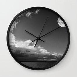 Moonlight Enchantment Wall Clock