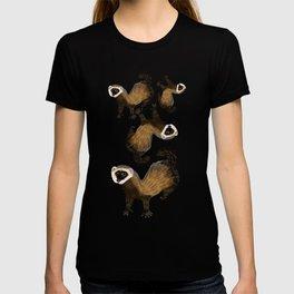 Brave Polecat ( Mustela putorius ) T-shirt