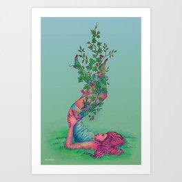 hedera Art Print