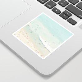 beach summer fun Sticker