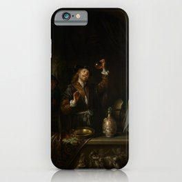 """Gerard Dou """"The Doctor"""" iPhone Case"""