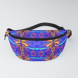 Colorful Ornament D Fanny Pack