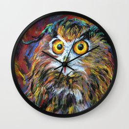 That gril is in fair! Wall Clock