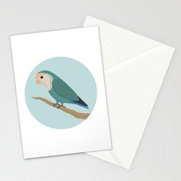Dutch Blue Lovebird Stationery Cards
