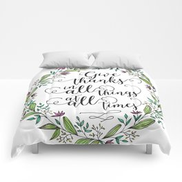 Give Thanks Comforters