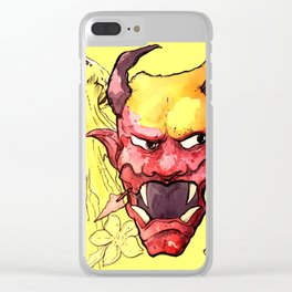 Oni + Jellyfish Clear iPhone Case