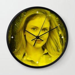 Rose McAver - Celebrity (Florescent Color Technique) Wall Clock