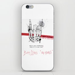 "Biffy Clyro - ""on a bang"" iPhone Skin"