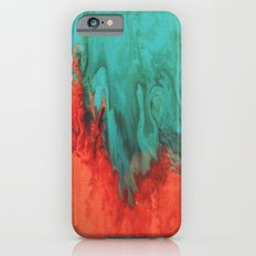 Vintage red and blue iPhone 6s Slim Case