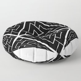 d20 Viking Valknut Odin Floor Pillow