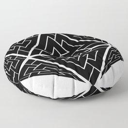 d20 Viking Valknut Odin Floor Pillow