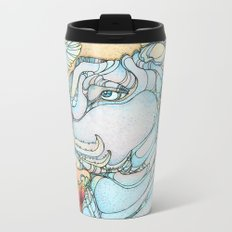 Peaceful Pitbull Metal Travel Mug