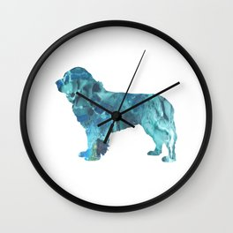 Newfoundland Dog Wall Clock