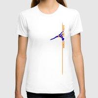 fitness T-shirts featuring Illini Pole Fitness Logo by IlliniPoleFitness