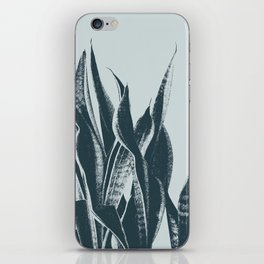 Long Leaves of The Green Plant #decor #society6 #buyart iPhone Skin