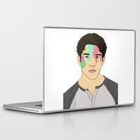 tyler spangler Laptop & iPad Skins featuring Tyler Posey by rinartistic