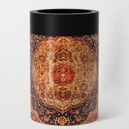 Seley 16th Century Antique Persian Carpet Print Can Cooler