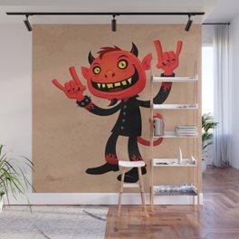Heavy Metal Devil Wall Mural